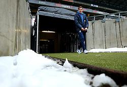Joe Partington of Bristol Rovers arrives at StadiumMK for the match against Milton Keynes Dons - Mandatory by-line: Robbie Stephenson/JMP - 03/03/2018 - FOOTBALL - Stadium MK - Milton Keynes, England - Milton Keynes Dons v Bristol Rovers - Sky Bet League One