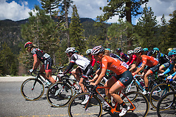 Kirsti Lay (USA) of Rally Cycling Team rides near the front on Stage 2 of the Amgen Tour of California - a 108 km road race, starting and finishing in South Lake Tahoe on May 18, 2018, in California, United States. (Photo by Balint Hamvas/Velofocus.com)
