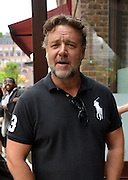 May 13, 2016 - New York, NY, United States - <br /> <br /> Actor Russell Crowe arriving at a downtown Manhattan hotel on May 13 2016 in New York City <br /> ©Exclusivepix Media