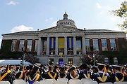 "Chris Matthews, the host of ""Hardball"" on MSNBC, speaks at the University of Rochester's Commencement Ceremony on Sunday, May 18, 2014."