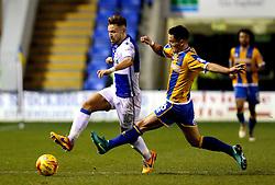 Matt Taylor of Bristol Rovers goes past Ian Black of Shrewsbury Town - Mandatory by-line: Robbie Stephenson/JMP - 17/12/2016 - FOOTBALL - Greenhous Meadow - Shrewsbury, England - Shrewsbury Town v Bristol Rovers - Sky Bet League One