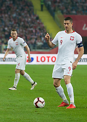 October 11, 2018 - Chorzow, Poland - Robert Lewandowski (POL) during the UEFA Nations league match between Poland v Portugal at the Slaski Stadium on October 11, 2018 in Chorzow  (Credit Image: © Foto Olimpik/NurPhoto via ZUMA Press)