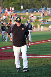 "1 June 2010: Cornbelters manager, Hal Lanier. The Windy City Thunderbolts are the opponents for the first home game in the history of the Normal Cornbelters in the new stadium coined the ""Corn Crib"" built on the campus of Heartland Community College in Normal Illinois."