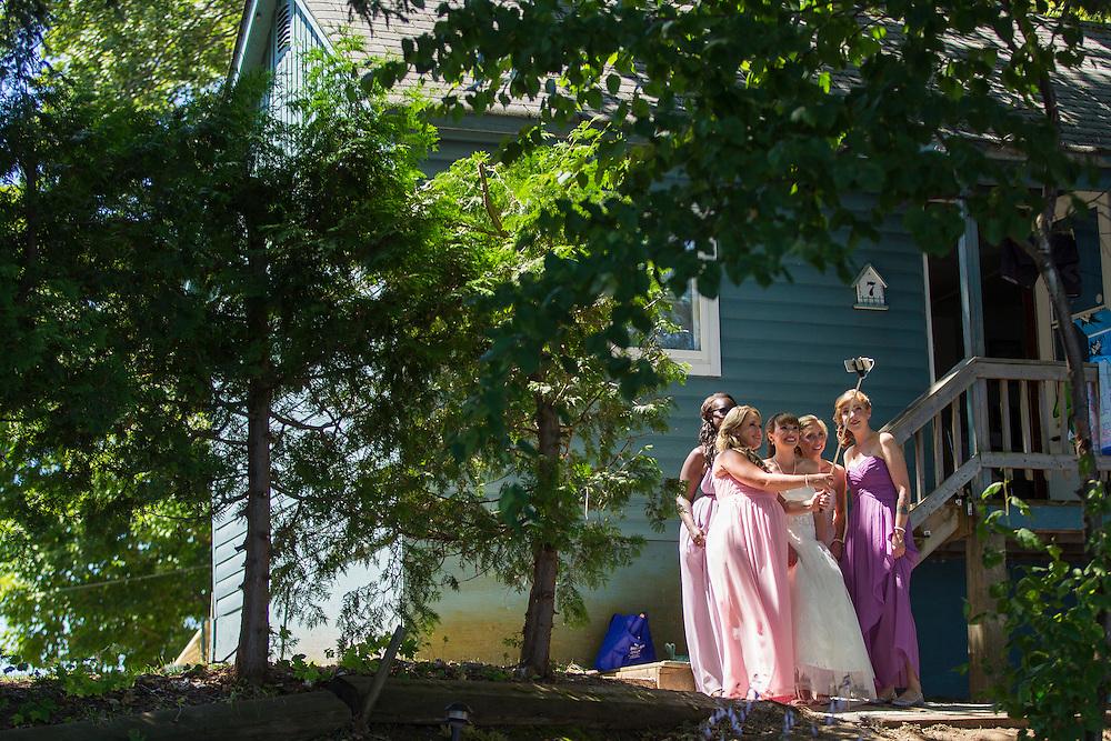 Bala, Ontario ---2016-07-22--- Justin and Chantal Chidley's Wedding in Bala, Ontario<br /> Bisi