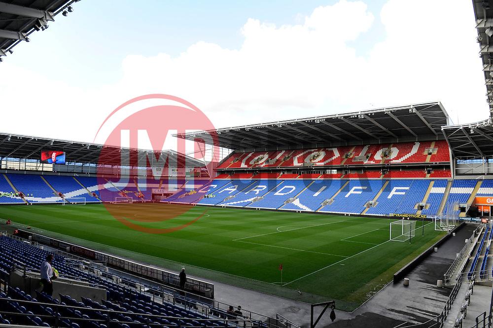 Cardiff City Stadium - Photo mandatory by-line: Dougie Allward/JMP - Mobile: 07966 386802 19/08/2014 - SPORT - FOOTBALL - Cardiff - Cardiff City Stadium - Cardiff City v Wigan Athletic - Sky Bet Championship