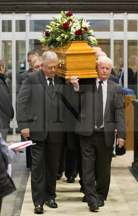 © under license to London News Pictures. 26/1/2011. The funeral of Bolton Wonderers and England star, Nat Lofthouse at Bolton Parish Church today (26/01/2011) Nat died at the age of 85. Photo credit should read:Joel Goodman/LNP