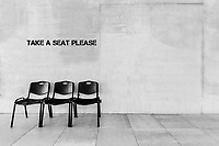 Photo of chairs in school