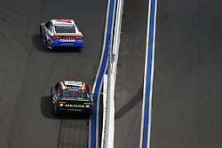 September 30, 2018 - Concord, North Carolina, United States of America - AJ Allmendinger (47) races during the Bank of America ROVAL 400 at Charlotte Motor Speedway in Concord, North Carolina. (Credit Image: © Chris Owens Asp Inc/ASP via ZUMA Wire)