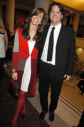 BARNABY & CHRISTINA THOMPSON at the Feast of Albion a sumptious locally-sourced banquet in aid of The Soil Association held at The Guildhall, City of London on 12th March 2008.<br />