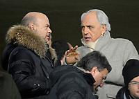 Roberto Bettega, nuovo Vice Direttore Generale della Juventus, con Marco Fassone<br /> Torino 13/01/2010 Stadio Olimpico<br /> Juventus Napoli - Ottavi di finale di Coppa Italia 2009-10.<br /> Foto Giorgio Perottino / Insidefoto