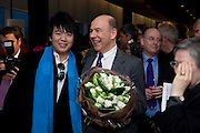 LANG LANG; ANTHONY D'OFFAY, The Presentation of the Montblanc de la Culture Arts Patronage Award to Anthony D'Offay. Tate Modern. 16 April 2009