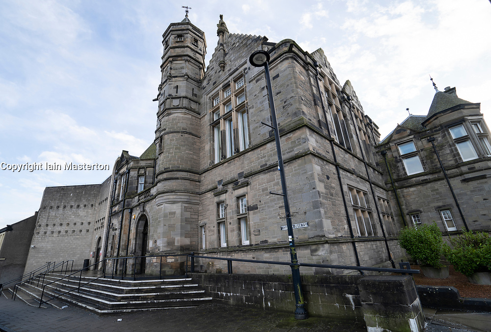 Exterior view of Kirkcaldy Sheriff Court in Kirkcaldy, Fife, Scotland, UK