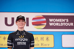 Stage winner, Kirsten Wild (NED) at Tour of Chongming Island 2018 - Stage 3, a 126.5 km road race on Chongming Island on April 28, 2018. Photo by Sean Robinson/Velofocus.com