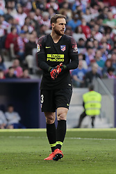 March 9, 2019 - Madrid, Madrid, Spain - Atletico de Madrid's Jan Oblak during La Liga match between Atletico de Madrid and CD Leganes at Wanda Metropolitano stadium in Madrid. (Credit Image: © Legan P. Mace/SOPA Images via ZUMA Wire)