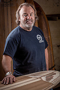 Darren Moran woodern surfboards
