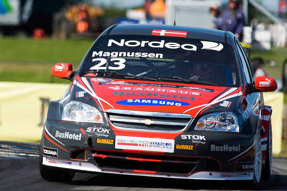 Jan Magnussen, Chevrolet Lacetti - Team Bauhaus, Perfection Racing..Scandinavian Touring Car Cup, Jyllandsringen - Denmark. Grand Prix Denmark.Photo: CLAUS SJöDIN / CSPRESS.DK.20100905..All right reserved. © 2010 Claus Sjödin.Photo: Claus Sjödin - CSPRESS.DK.©  2010 Claus Sjodin - All rights reserved