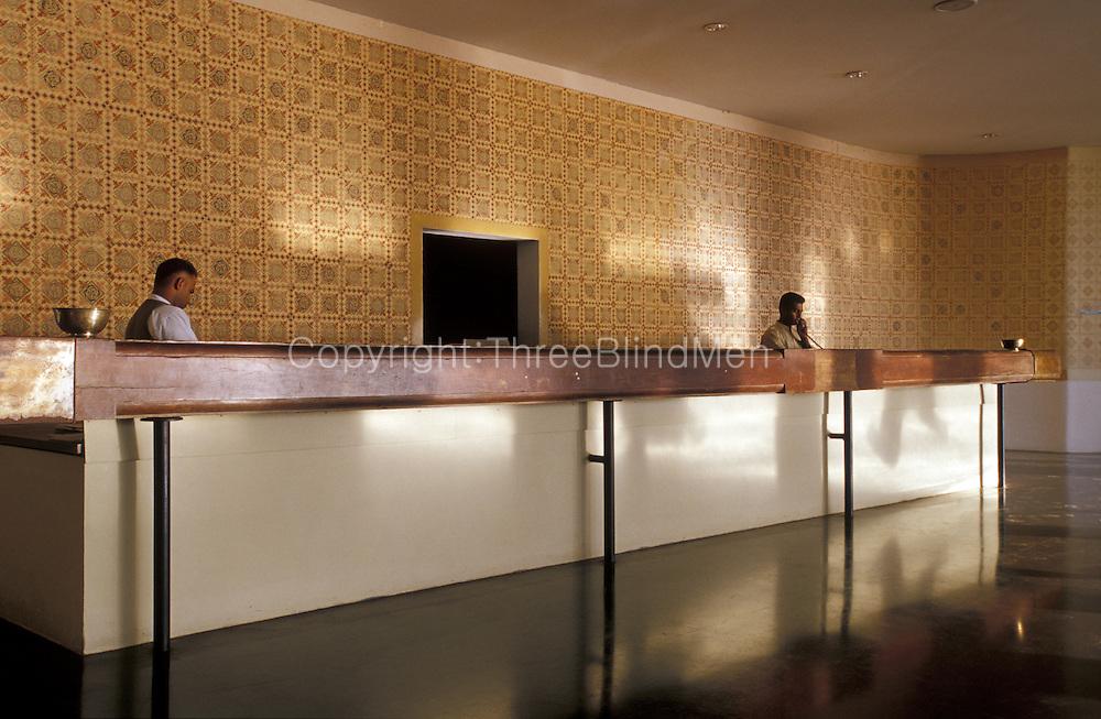 The Kandalama Hotel, now called Inheritance Kandalama.<br /> Designed by architect Geoffrey Bawa.