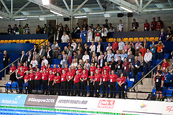 Officials and VIPs  at 2015 IPC Swimming World Championships -  Opening Ceremony