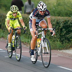 Boels Rental Ladiestour 2013 Stage 6 Bunde - Berg en Terblijt Chantal Blaak en Marta Tagliaffero