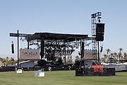 Coachella stage at the 2010 Coachella Music Festival in Indio, CA on April 16, 2010.