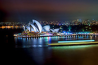 Sydney Opera House @ Night (Color)
