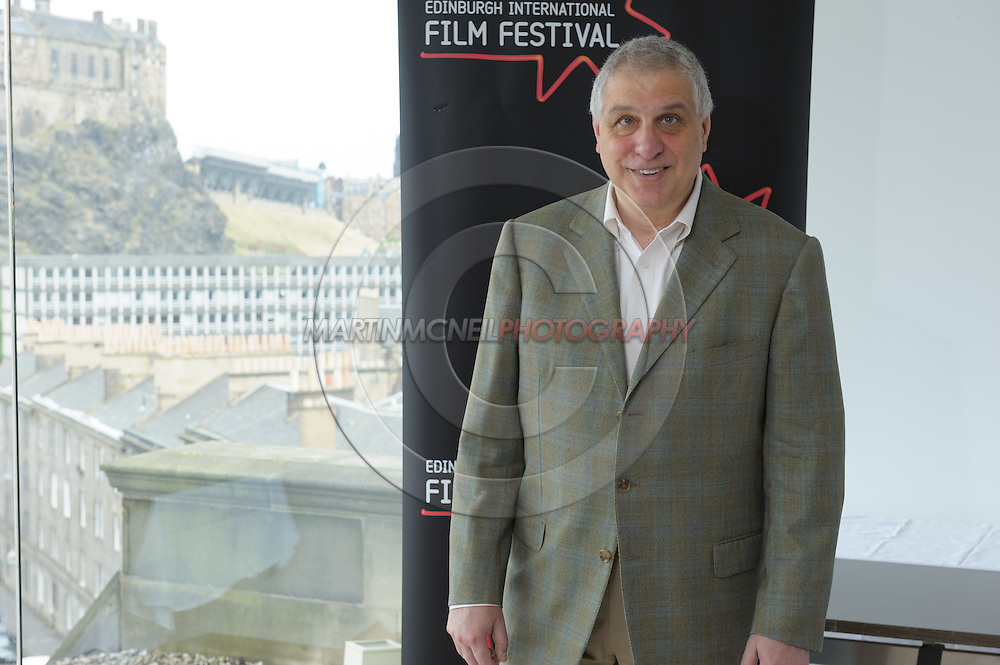 EDINBURGH, SCOTLAND, JUNE 21, 2008: Errol Morris attends a photocall during the 62nd annual Edinburgh International Film Festival inside the Point Conference Center on Saturday, June 21, 2008 in Edinburgh, Scotland (Martin McNeil)