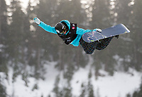 LG SNOWBOARD FIS WORLD CUP, CYPRESS MOUNTAIN, VANCOUVER, BRITISH COLUMBIA, CANADA - Ladies Half Pipe , Kelly Clark (USA) winner of todays World Cup: Photo by Peter Llewellyn