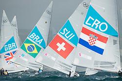 2012 Olympic Games London / Weymouth<br /> Scheidt Robert, Prada Bruno, (BRA, Star)<br /> Marazzi Flavio, De Maria Enrico, (SUI, Star)<br /> Lovrovic Dan, Lovrovic Jr Marin, (CRO, Star)