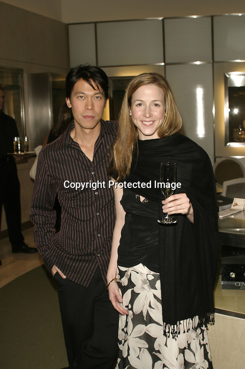 Virginia Reece &amp; Stanford Poon<br />ARIEL'S HEART OF HOPE <br />Neiman Marcus<br />Beverly Hills, CA, USA<br />Wednesday, December 10, 2003   <br />Photo By Celebrityvibe.com/Photovibe.com