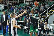 Avellino 30/04/2017 - Lega Basket Serie A - Campionato 2016/2017<br /> Sidigas Avellino - Pasta Reggia Caserta<br /> nella foto: adonis thomas<br /> foto Ciamillo