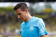 Florian Thauvin (Olympique de Marseille) during the French championship L1 football match between Rennes v Lyon, on August 11, 2017 at Roazhon Park stadium in Rennes, France - Photo Stephane Allaman / ProSportsImages / DPPI