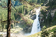 Krimml Waterfalls, the hohe tauern National Park, Salzburgerland, Tyrol, Austria