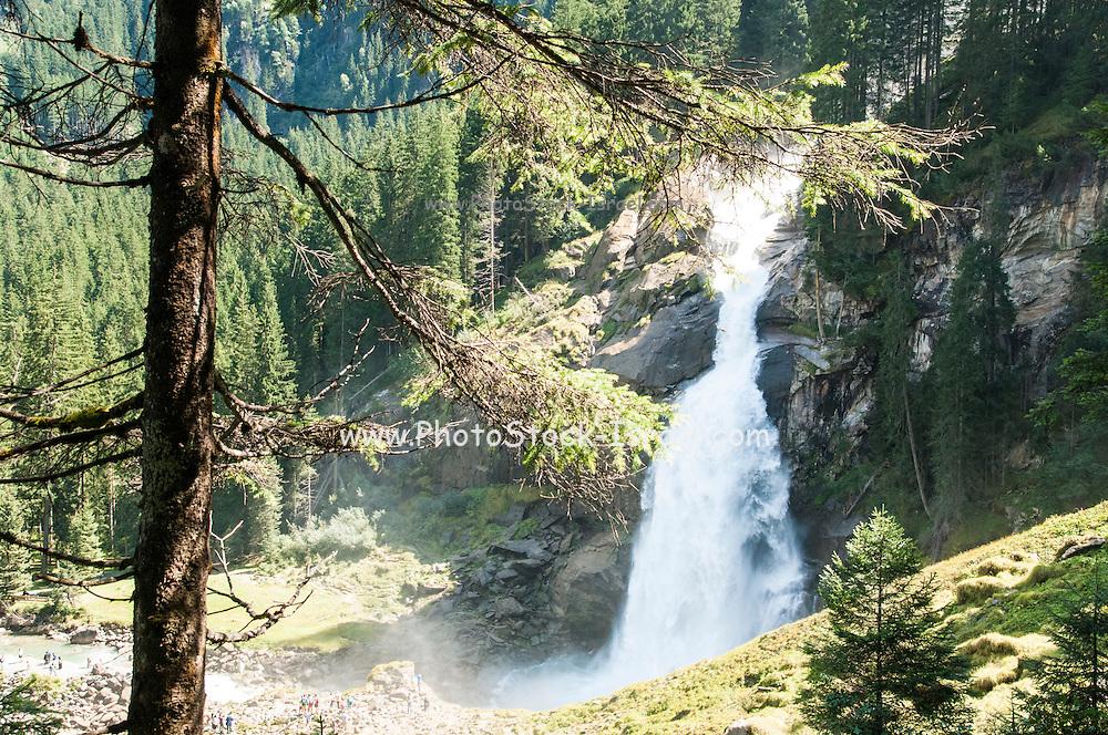 Krimml Waterfalls, the hohe tauern National Park, Salzburgerland, Tyrol, Austria