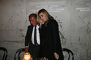 VALENTINO AND PRINCESS Rosario Saxe Coburg, Dinner given by Established and Sons to celebrate Elevating Design.  P3 Space. University of Westminster, 35 Marylebone Rd. London NW1. -DO NOT ARCHIVE-© Copyright Photograph by Dafydd Jones. 248 Clapham Rd. London SW9 0PZ. Tel 0207 820 0771. www.dafjones.com.