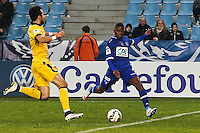 Goal Floyd AYITE - 03.01.2014 - Bastia / Lille - Coupe de France -<br />