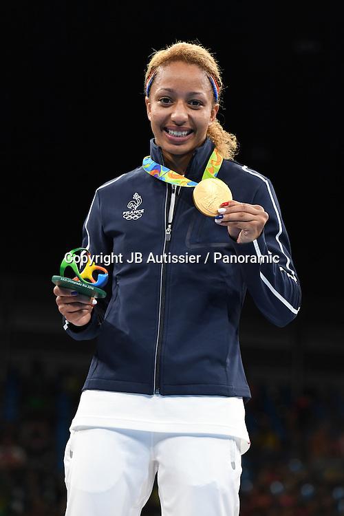 podium femme poids leger 57/60kg<br /> MOSSELY Estelle (fra) medaille d or