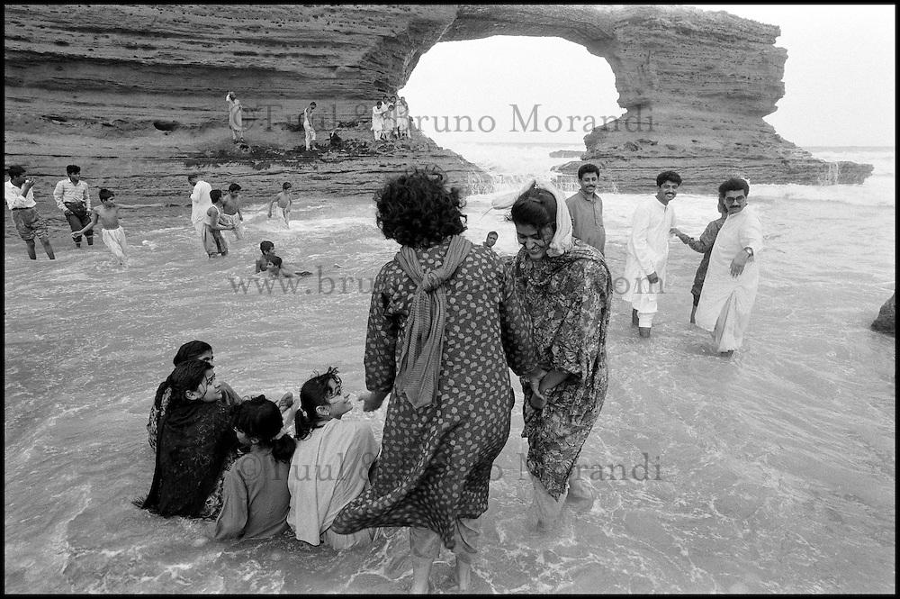 Pakistan, Province du Sind, Plage à Karachi. // pakistan, Sind province, Bach at karachi