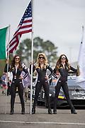 April 5-7, 2019: Lamborghini Super Trofeo: Barber Motorsport Park. Lamborghini grid girls