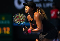 October 4, 2018 - Beijing, China - Naomi Osaka of Japan in action during her third-round match at the 2018 China Open WTA Premier Mandatory tennis tournament (Credit Image: © AFP7 via ZUMA Wire)