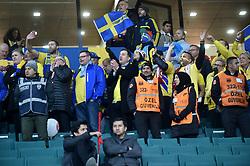 November 17, 2018 - Konya, Türkiye - Sweden supporters during Turkey vs. Sweden UEFA Nations League, League B game at Konya, Turkey, 17th Nov., 2018 (Credit Image: © Hikmet Saatci/Depo Photos via ZUMA Wire)