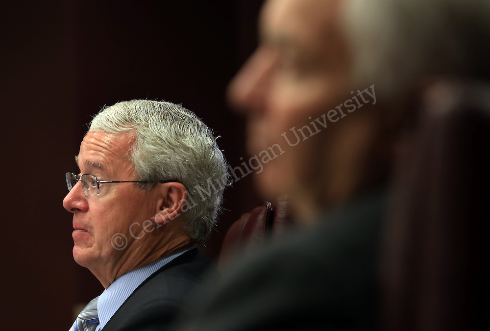Brian Fannon during the CMU Board of Trustees meeting in the University Center on Thursday September 19, 2013.