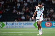 Teddy THOMAS (Racing 92) during the French championship Top 14 Rugby Union match between Racing 92 and SU Agen on September 8, 2018 at U Arena in Nanterre, France - Photo Stephane Allaman / ProSportsImages / DPPI