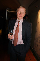 Silver specialist TIMOTHY SCHRODER at 'Britannia & Muscovy English Silver at The Court of The Tsars' exhibition opening at the Gilbert Collection, Somerset House, London on 20th October 2006<br /><br />NON EXCLUSIVE - WORLD RIGHTS