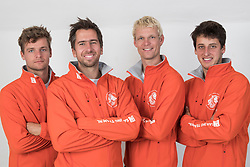 2nd July 2017. GKSS Match Cup Sweden, Marstrand, Sweden. PIETER-JAN POSTMA (Second Left) and his team, SAILING TEAM NL.