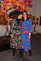 Jasmine Hemsley and Maria Kastani at the Women for Women International #SheInspiresMe Auction held at Sotheby's New Bond Street, England. 19 November 2018. <br /> <br /> ***For fees please contact us prior to publication***
