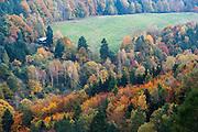 Wehlgrund, Blick von der Bastei, Sächsische Schweiz, Elbsandsteingebirge, Sachsen, Deutschland | view on rocks from Bastei, Saxon Switzerland, Saxony, Germany