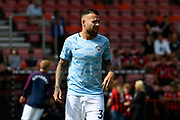 Nicolss Otamendi (30) of Manchester City warming up before the Premier League match between Bournemouth and Manchester City at the Vitality Stadium, Bournemouth, England on 26 August 2017. Photo by Graham Hunt.