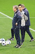England Manager Roy Hodgson during the England Training at Estadio Jos&eacute; Rico P&eacute;rez, Alicante<br /> Picture by Paul Chesterton/Focus Images Ltd +44 7904 640267<br /> 12/11/2015