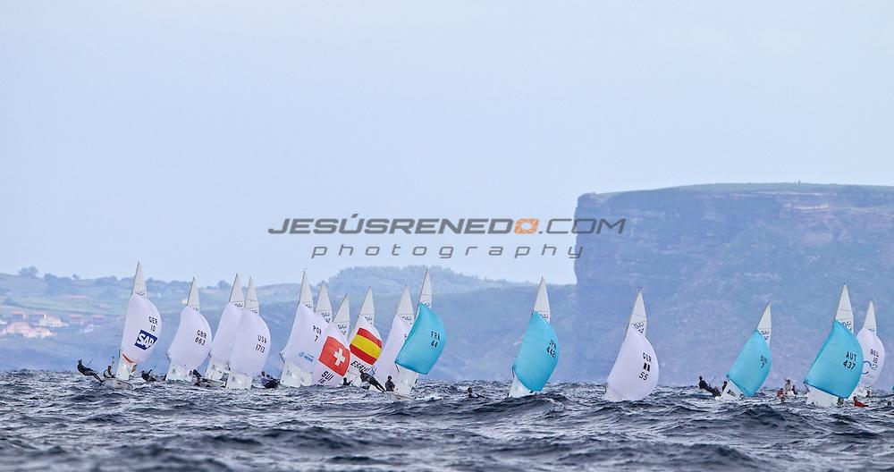 CIUDAD DE SANTANDER Trophy, Isaf sailing World Championships test event.Day 3