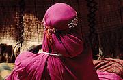 Ali Sabieh, Djibouti. Issa woman in traditional dress.